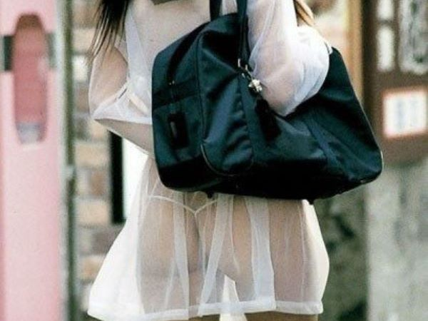 JK 制服 透ける シースルー エロ画像 1
