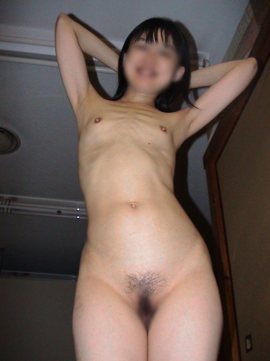 素人 貧乳熟女 エロ画像 51
