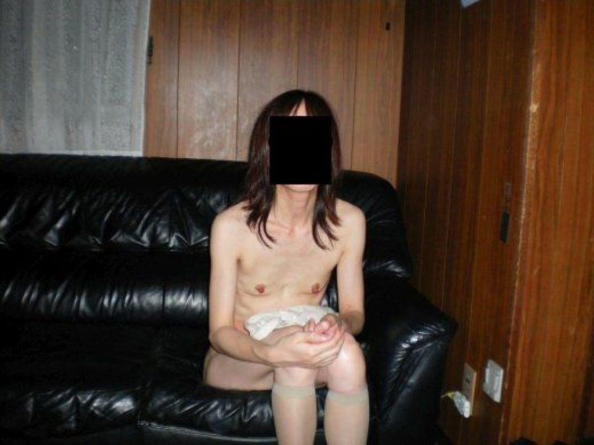素人 貧乳熟女 エロ画像 73