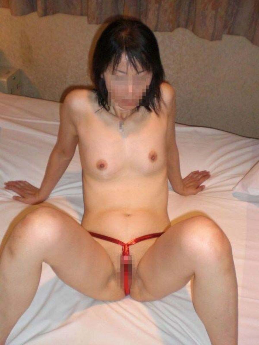 素人 貧乳熟女 エロ画像 78