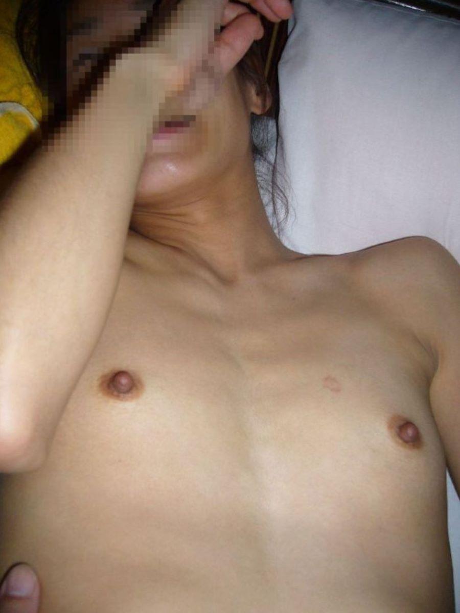 素人 貧乳熟女 エロ画像 145