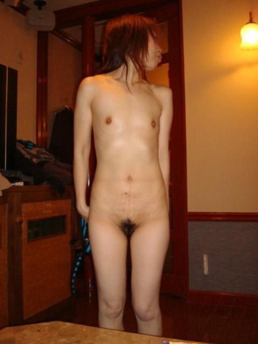 素人 貧乳熟女 エロ画像 153