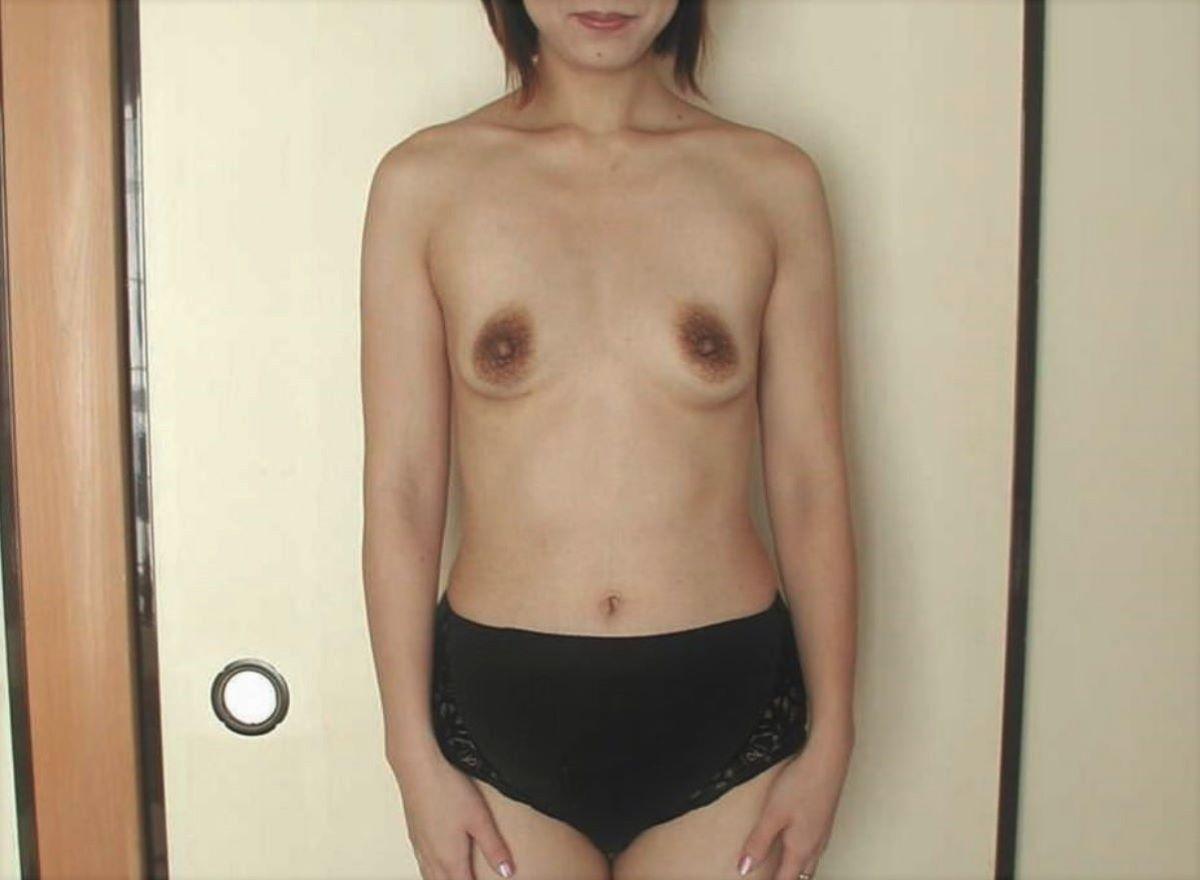 素人 貧乳熟女 エロ画像 163