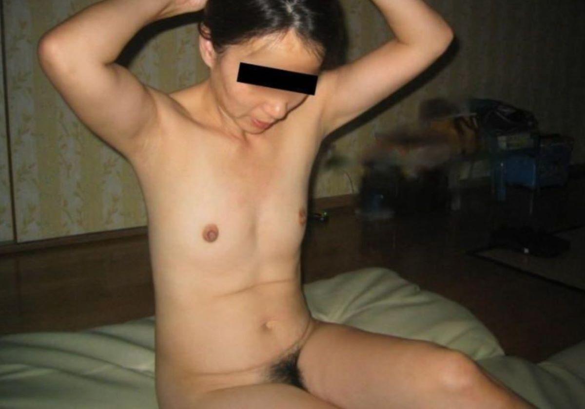素人 貧乳熟女 エロ画像 168