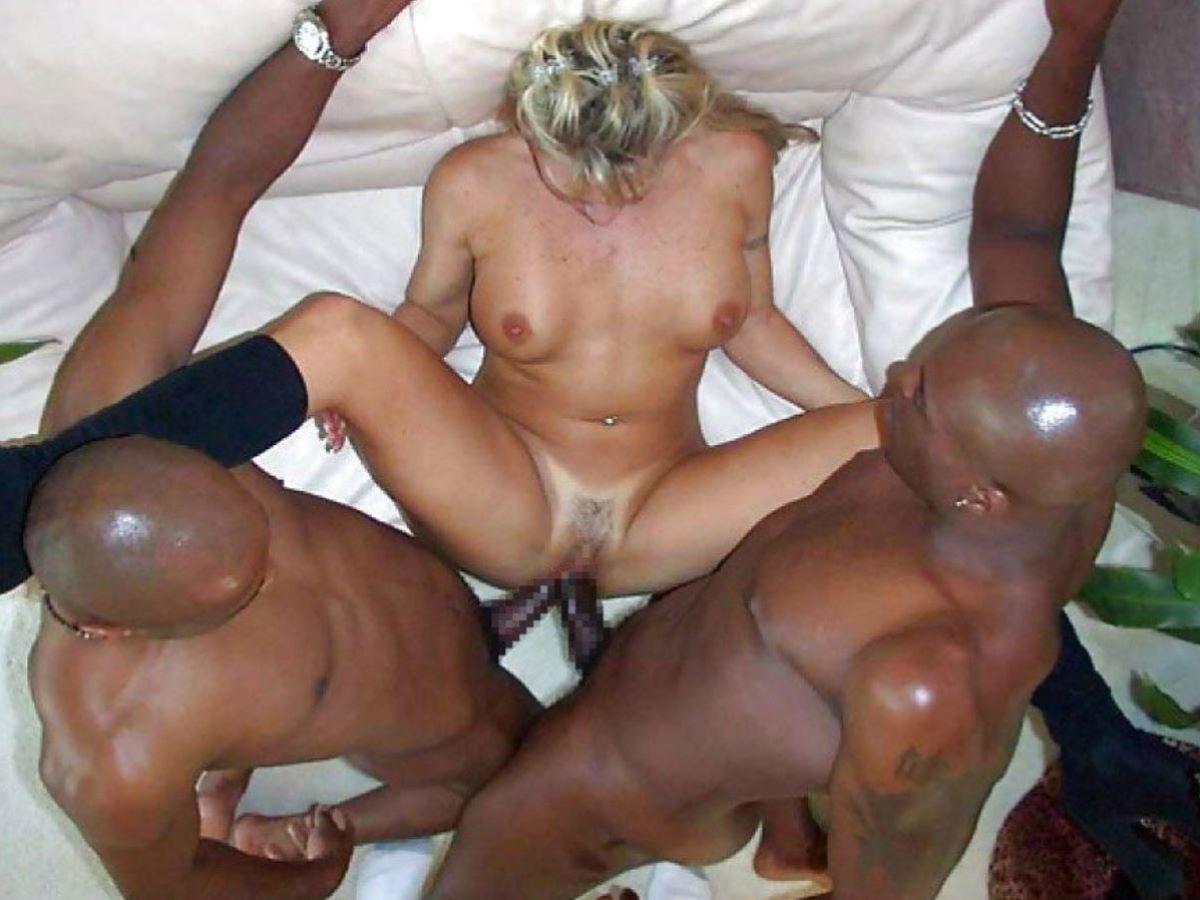 黒人 セックス 画像 20