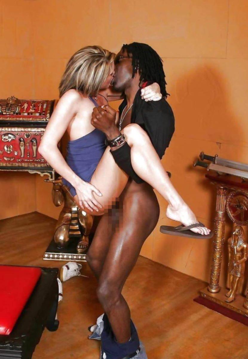 黒人 セックス 画像 34