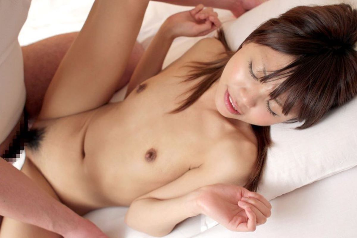 貧乳 セックス 画像 136