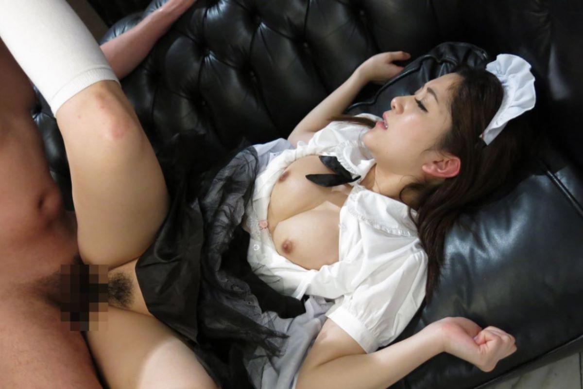 メイド ご奉仕 セックス画像 19