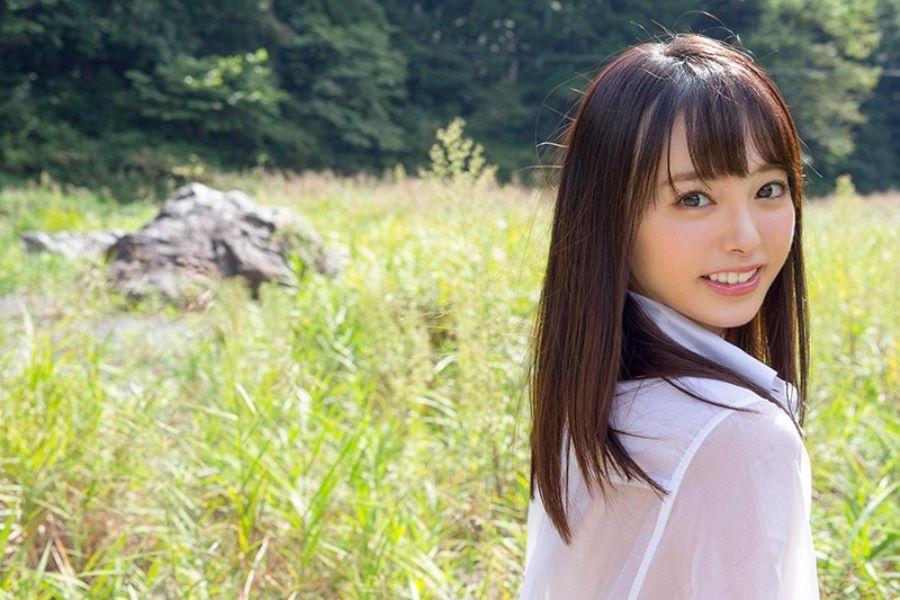 小倉由菜がアソコを濡らしまくったAVデビュー画像