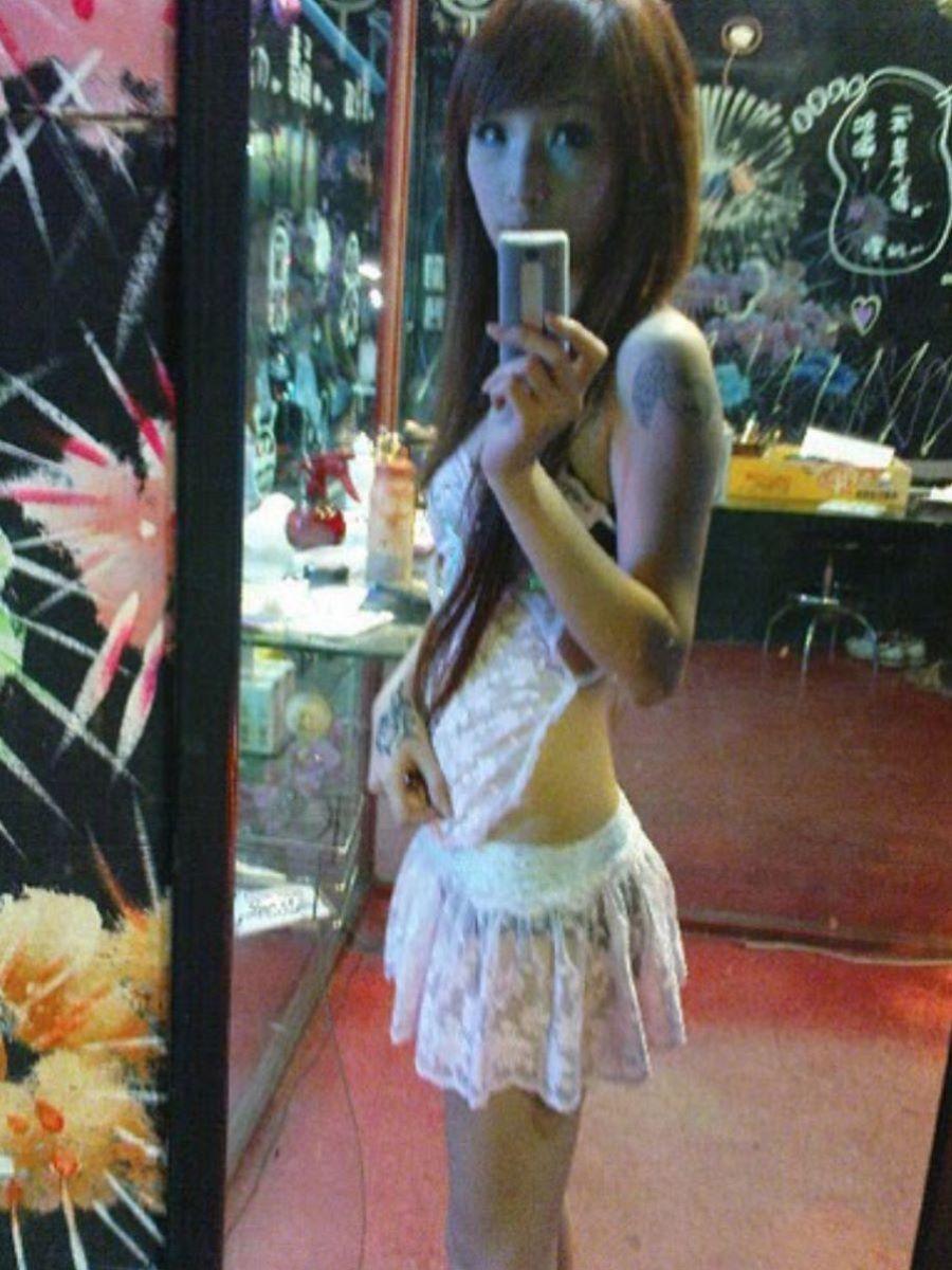 ビンロウ売り 台湾女子 エロ画像 7