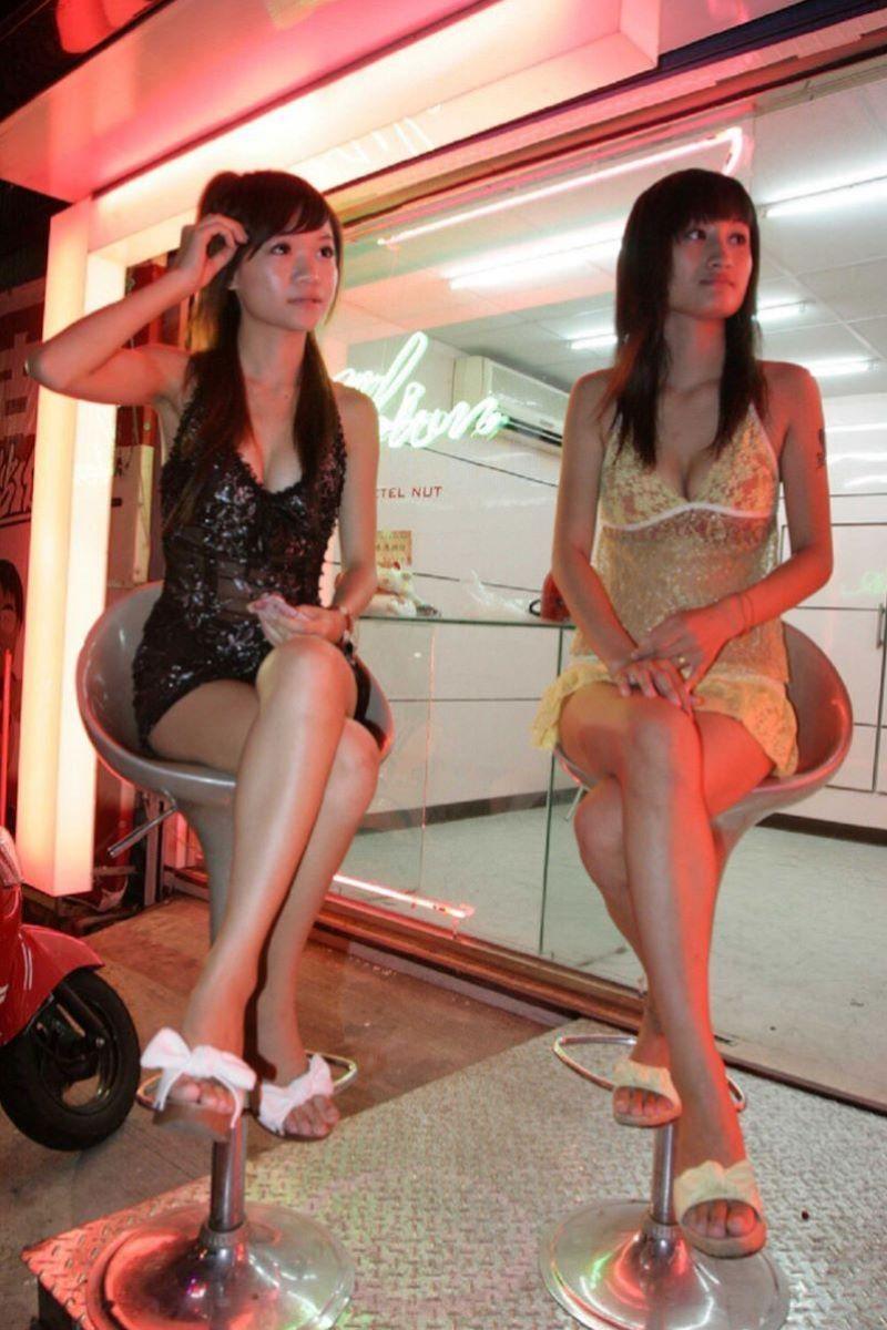 ビンロウ売り 台湾女子 エロ画像 14