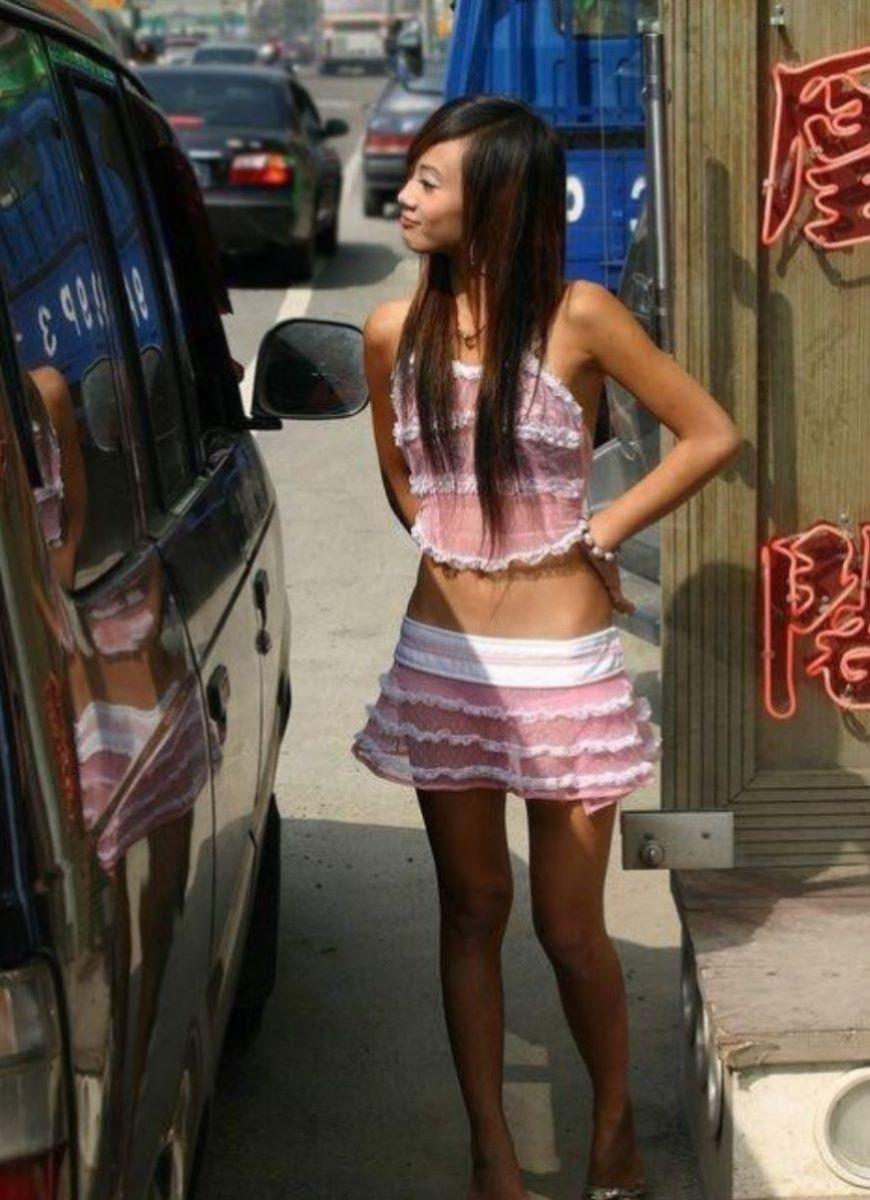 ビンロウ売り 台湾女子 エロ画像 38