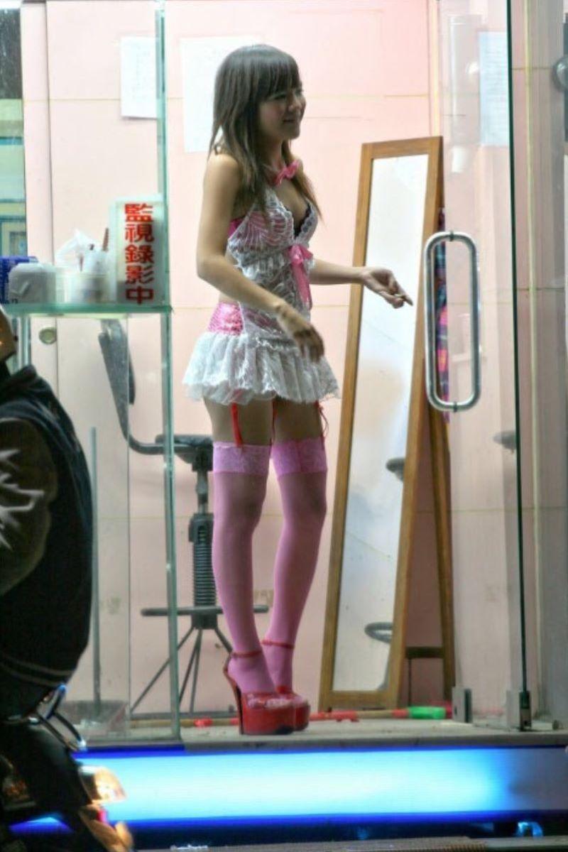 ビンロウ売り 台湾女子 エロ画像 47