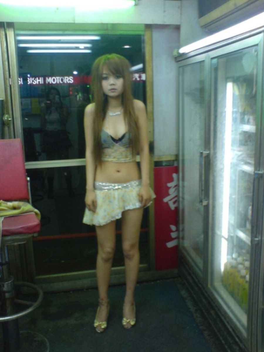 ビンロウ売り 台湾女子 エロ画像 59
