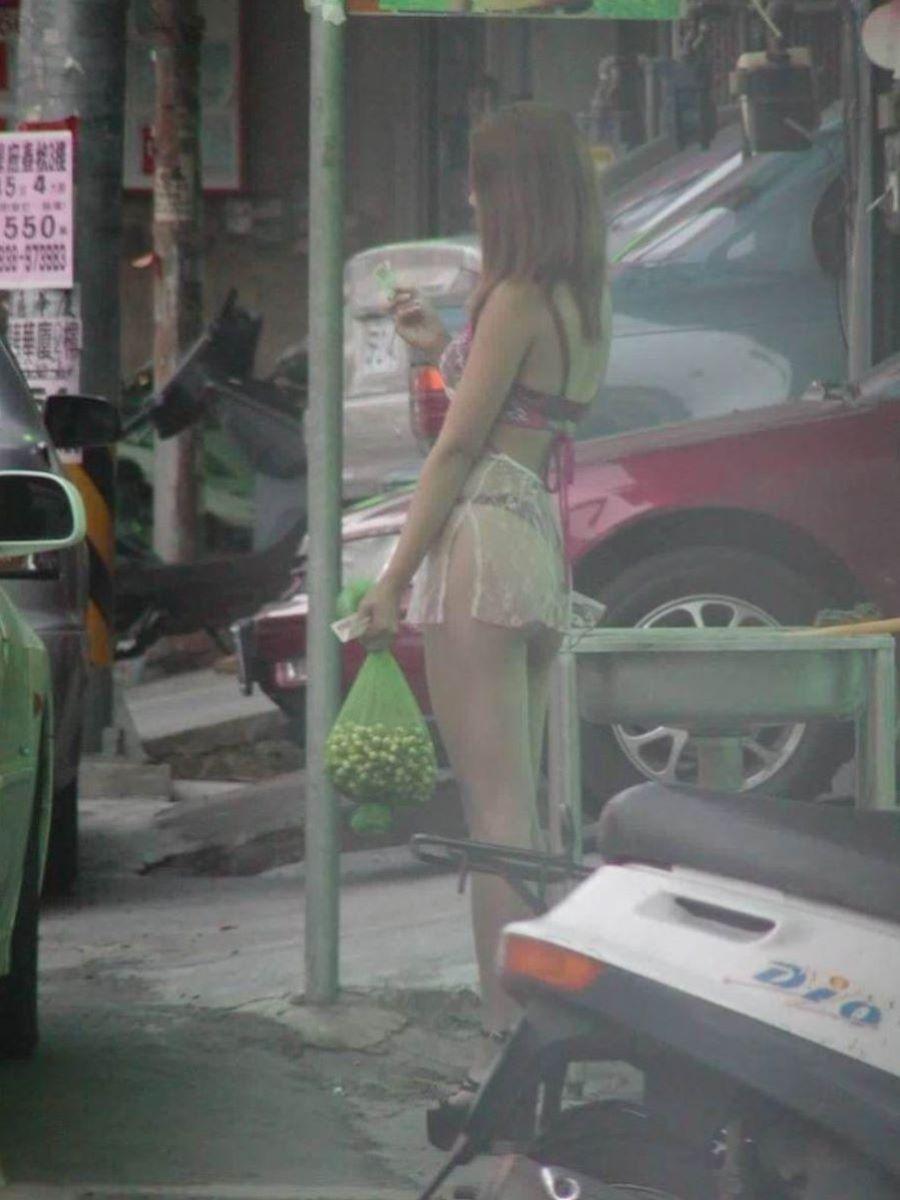 ビンロウ売り 台湾女子 エロ画像 60