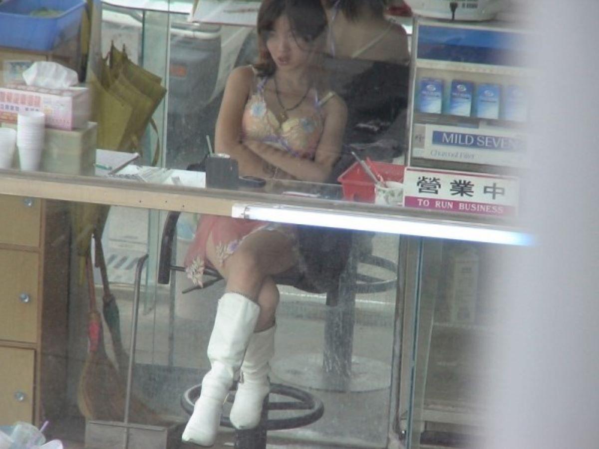 ビンロウ売り 台湾女子 エロ画像 64