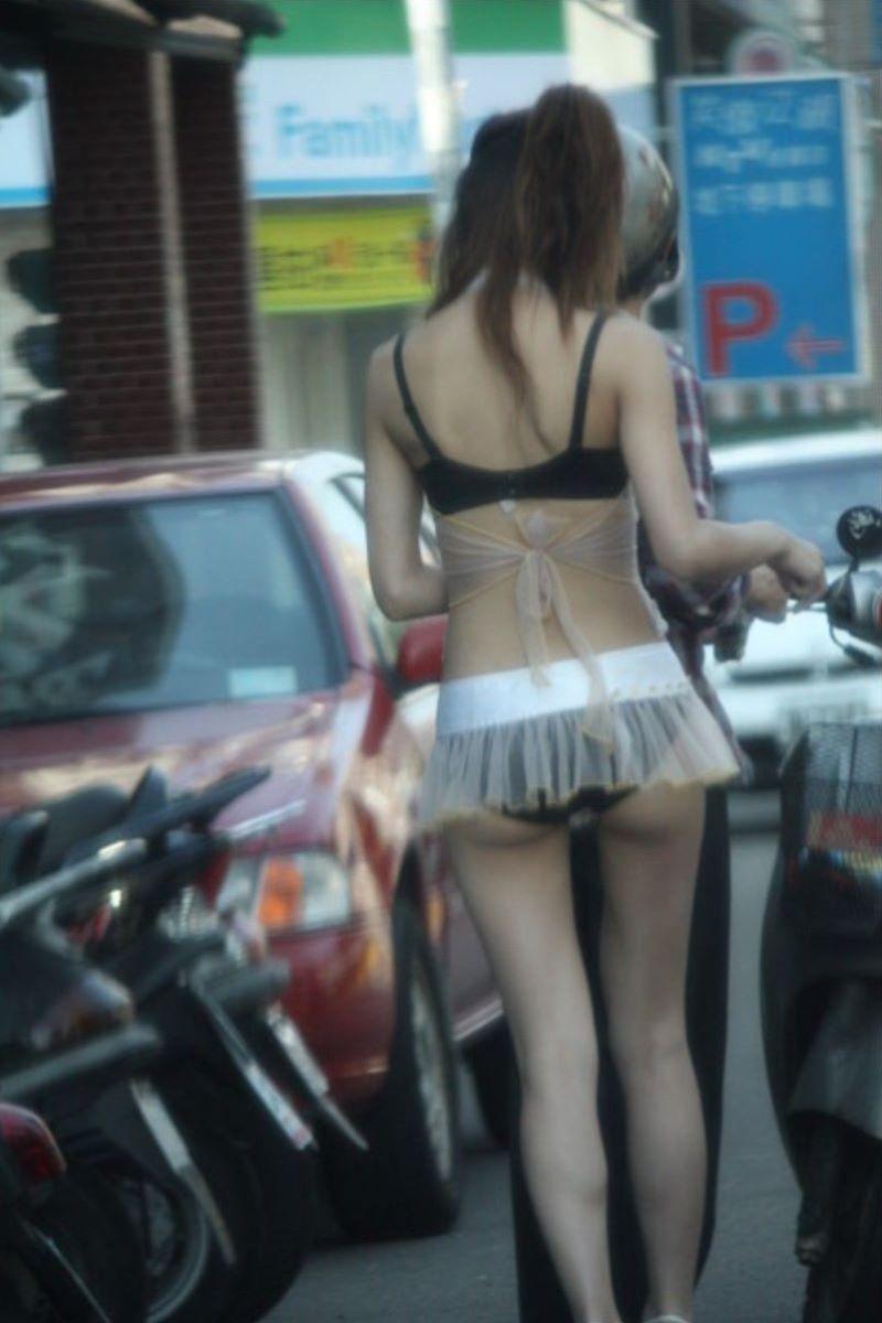 ビンロウ売り 台湾女子 エロ画像 75