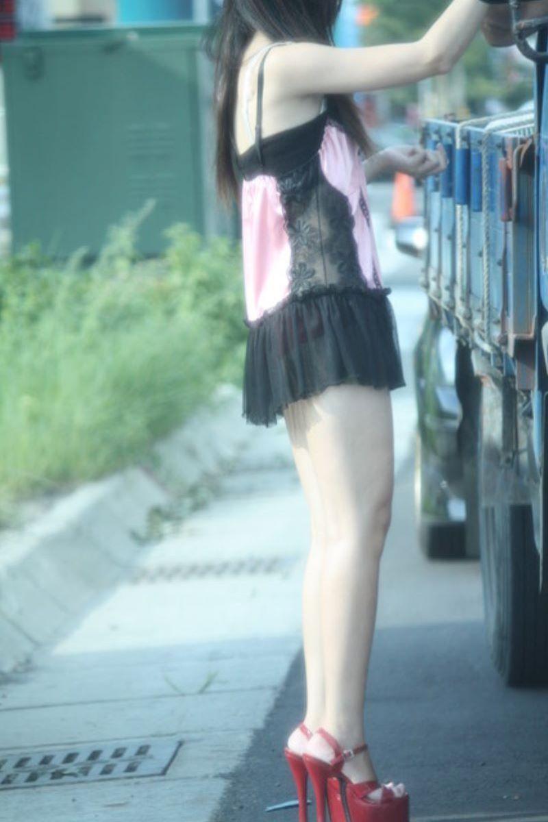 ビンロウ売り 台湾女子 エロ画像 80