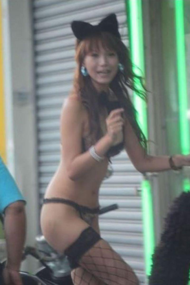 ビンロウ売り 台湾女子 エロ画像 99