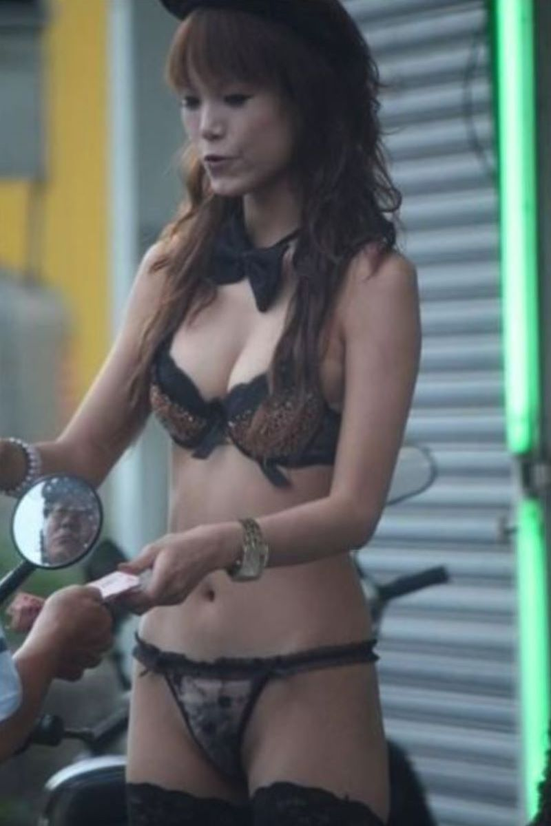 ビンロウ売り 台湾女子 エロ画像 101
