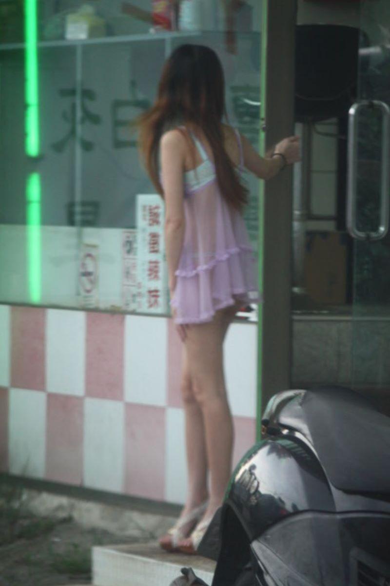 ビンロウ売り 台湾女子 エロ画像 117