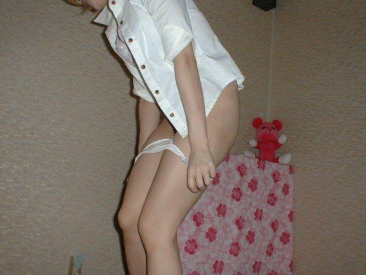 素人ギャル 脱衣 エロ画像 126