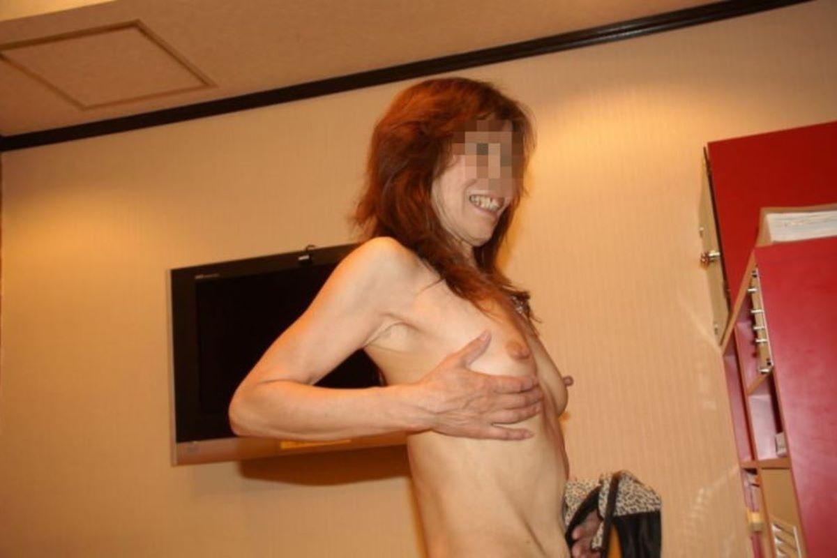 貧乳 スレンダー 熟女画像 106