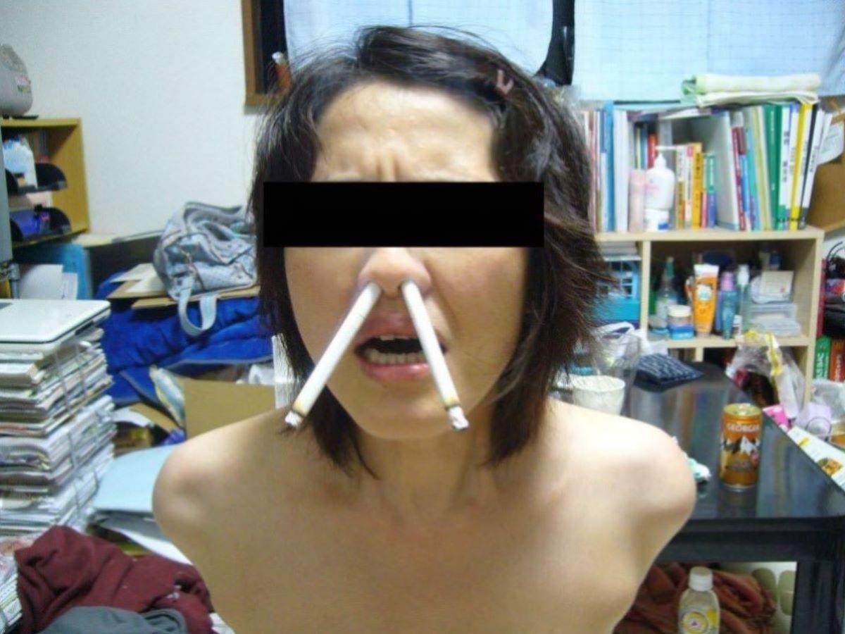 彼女 セフレ 喫煙 エロ画像 34