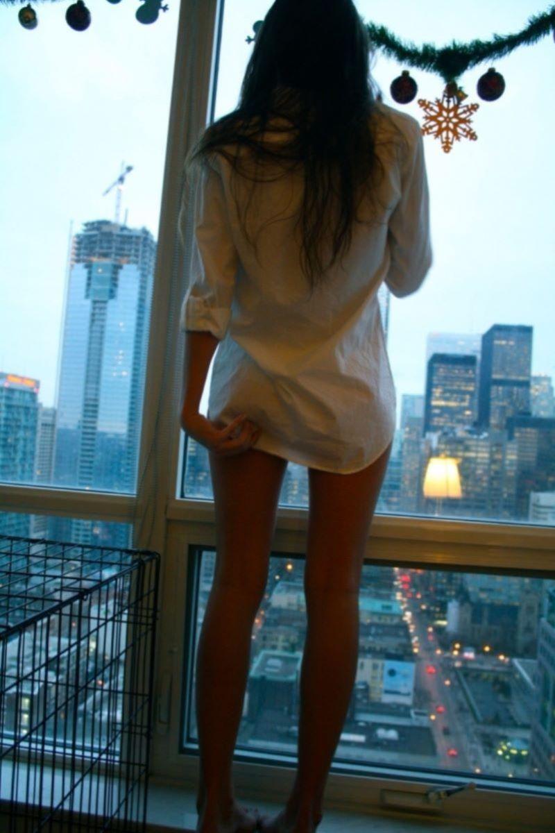 裸ワイシャツ 白シャツ エロ画像 24