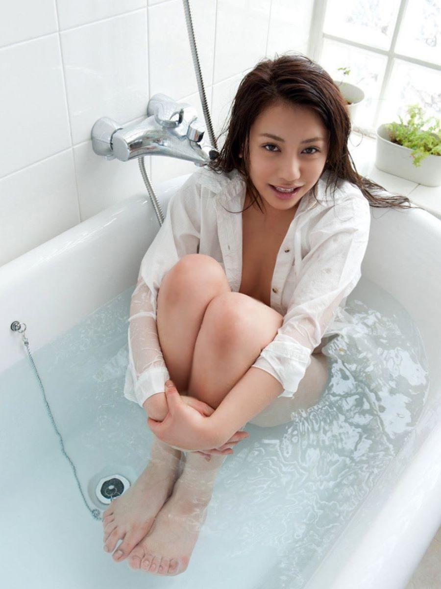 裸ワイシャツ 白シャツ エロ画像 30