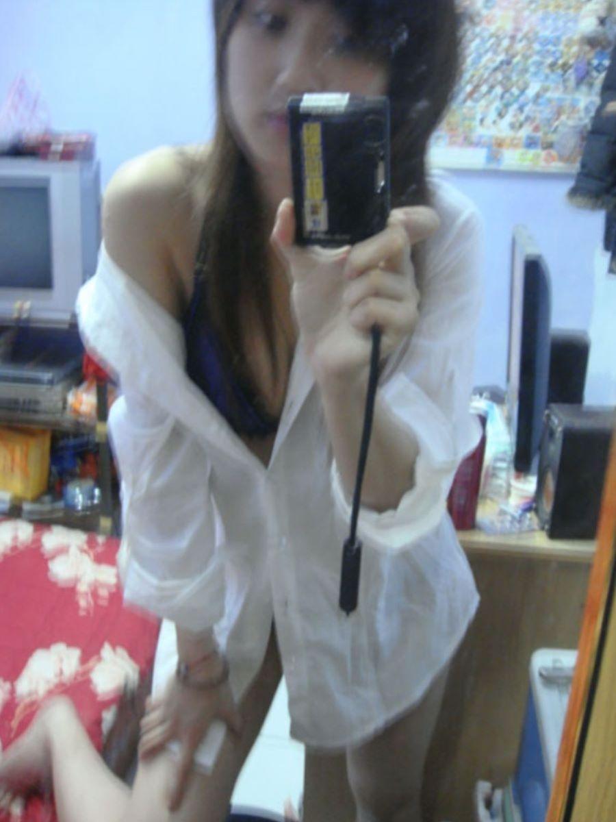 裸ワイシャツ 白シャツ エロ画像 50