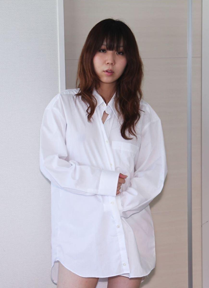 裸ワイシャツ 白シャツ エロ画像 90