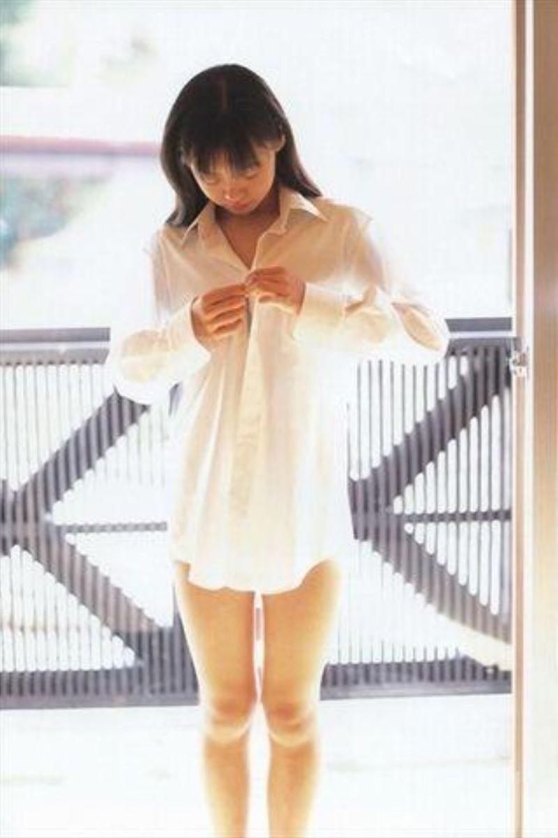 裸ワイシャツ 白シャツ エロ画像 93