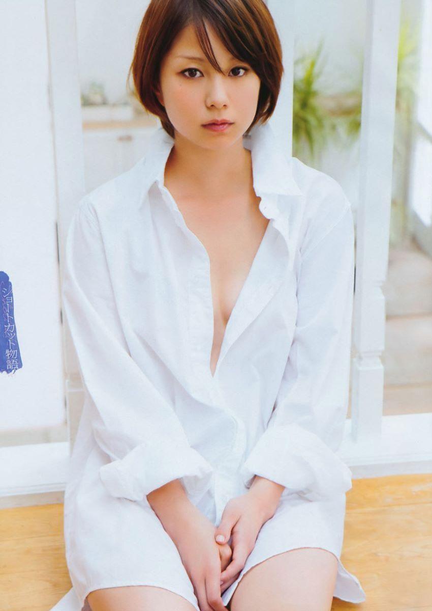 裸ワイシャツ 白シャツ エロ画像 98