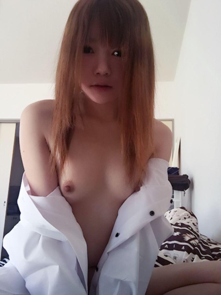 裸ワイシャツ 白シャツ エロ画像 103