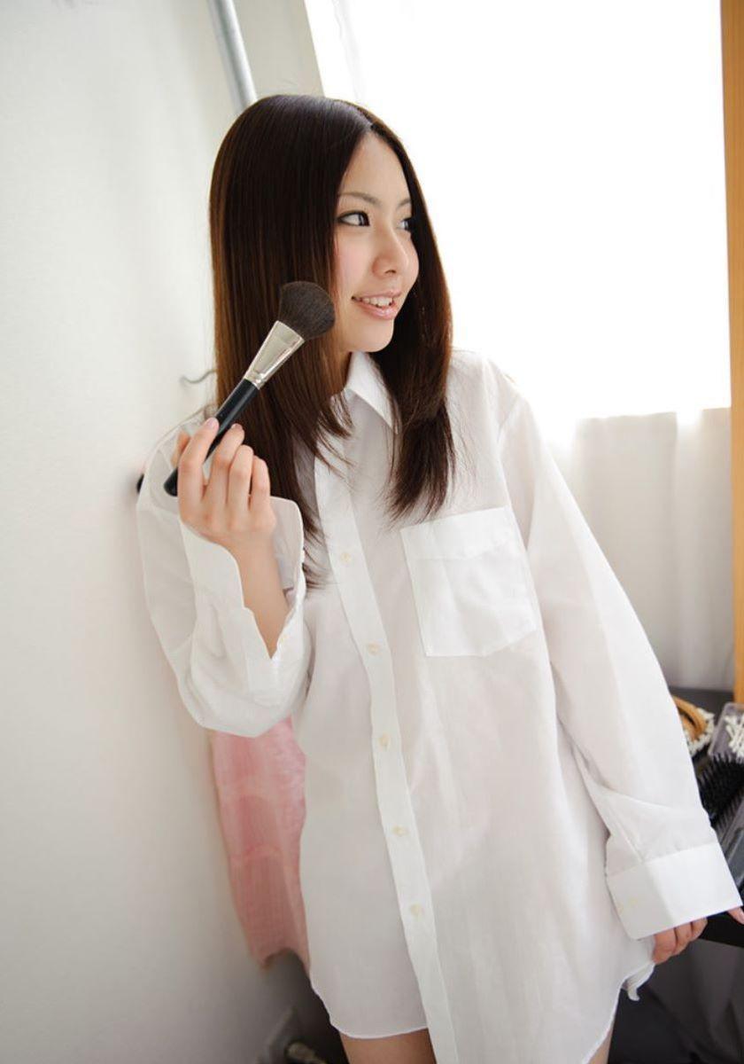 裸ワイシャツ 白シャツ エロ画像 133