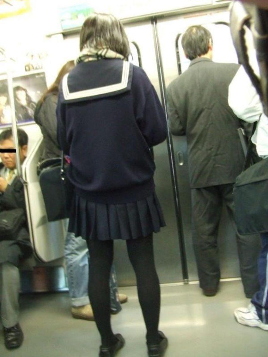 黒タイツ 黒パンスト JK画像 134