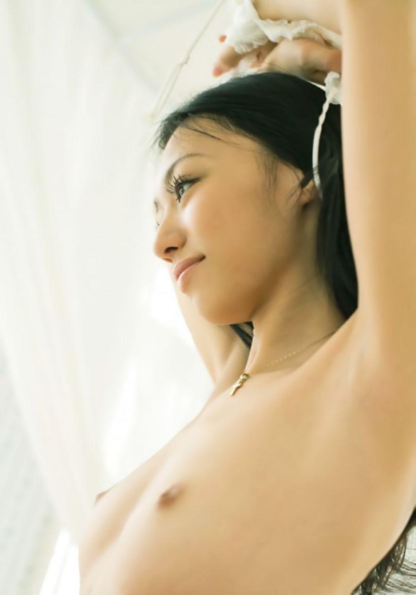 貧乳 無乳 ヌード画像 119