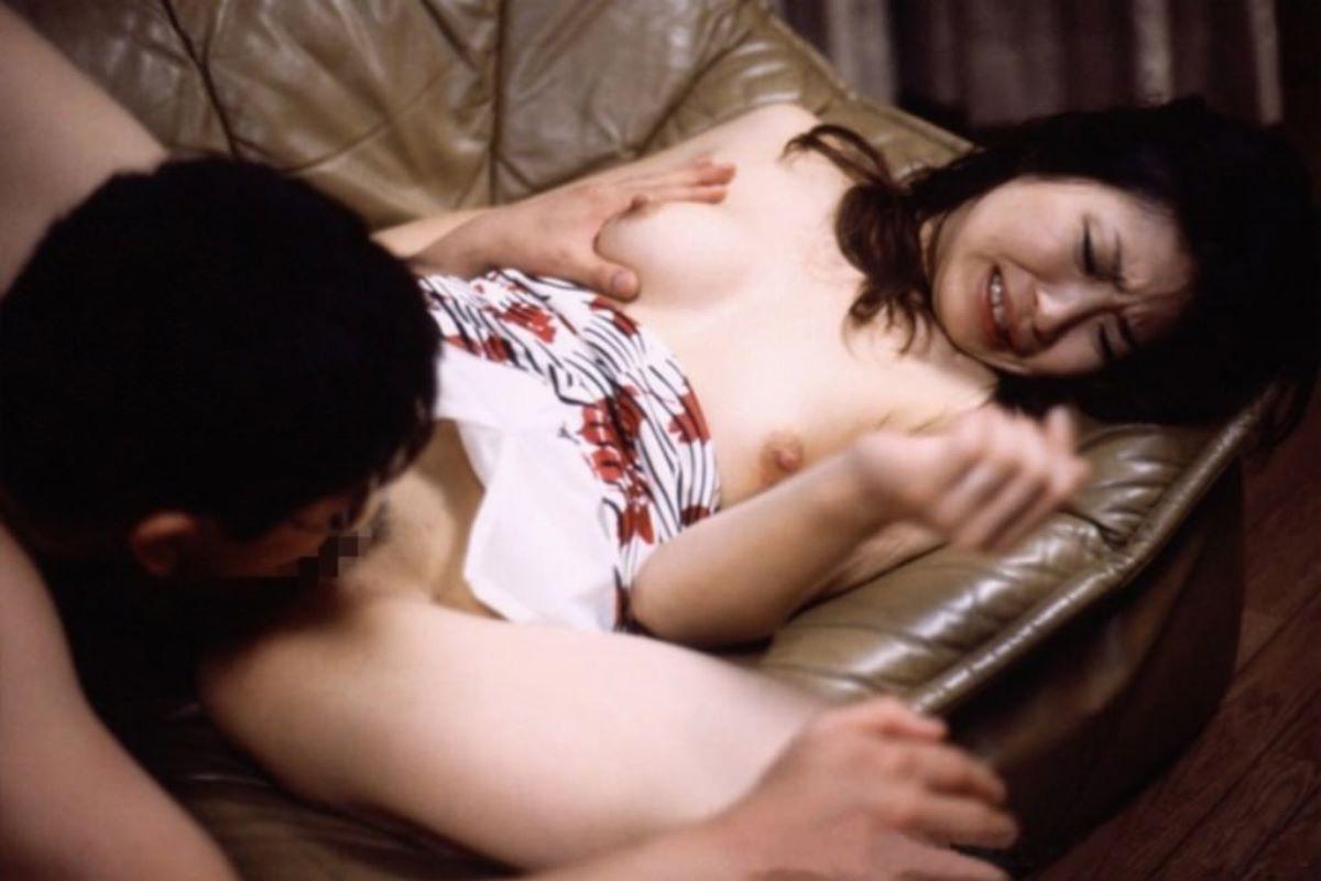 熟女 人妻 クンニ画像 99
