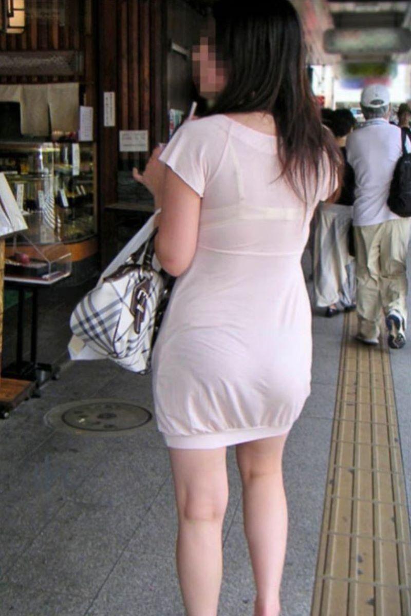 熟女 透けブラ 画像 48