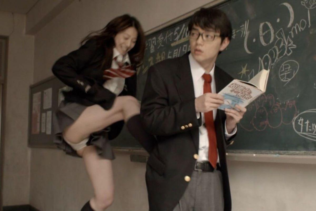 蹴り パンチラ キック JK画像 54
