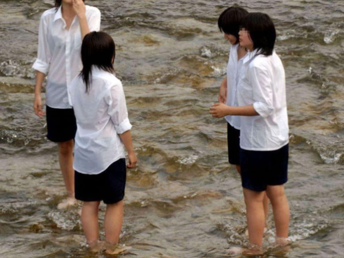 濡れ透け JK画像 11