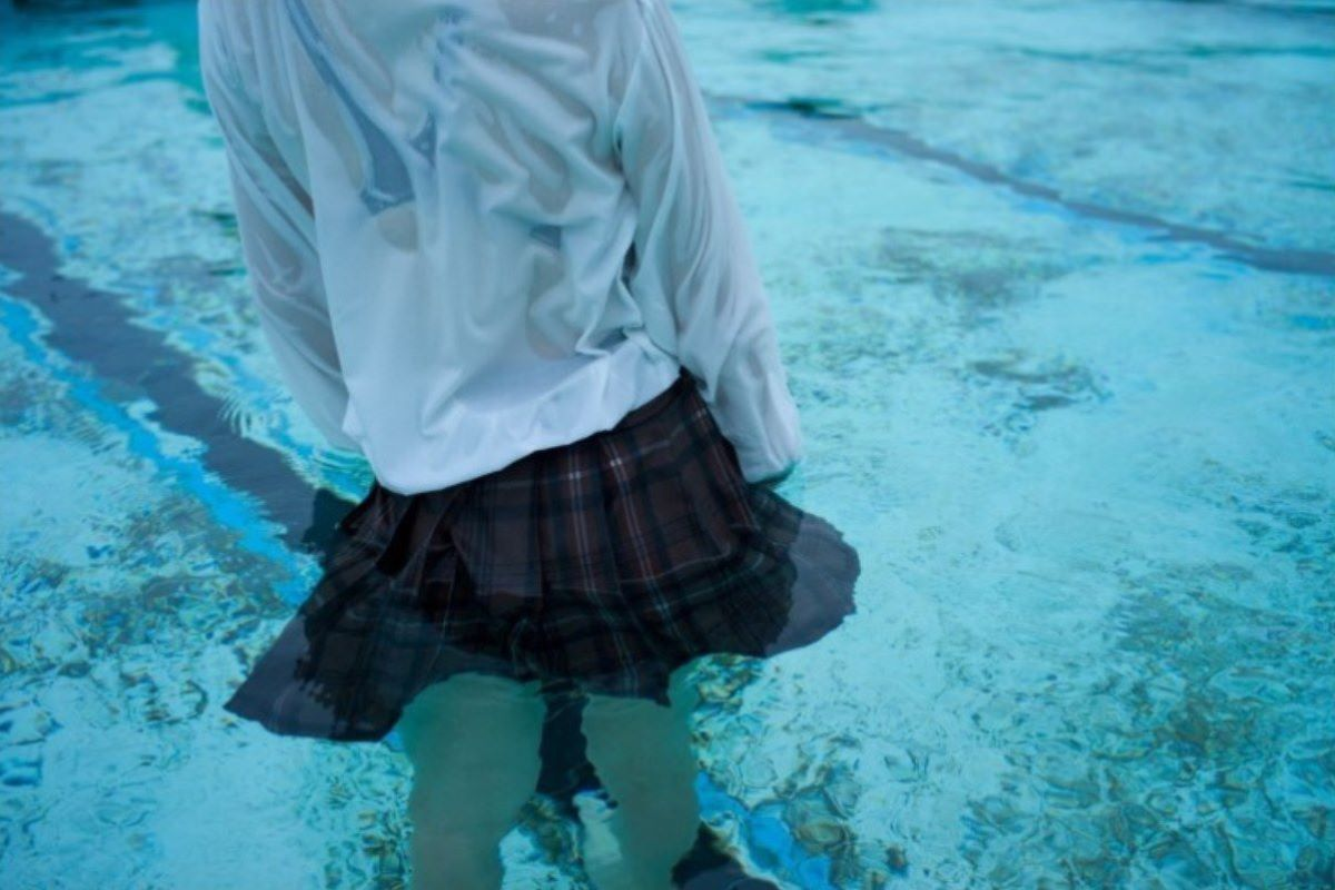 濡れ透け JK画像 19