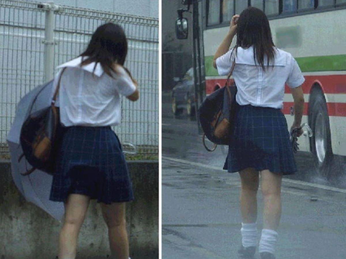 濡れ透け JK画像 27