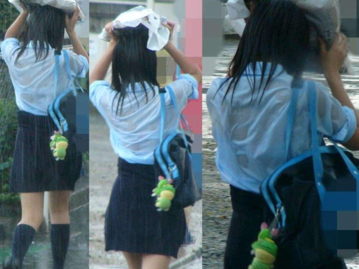 濡れ透け JK画像 35