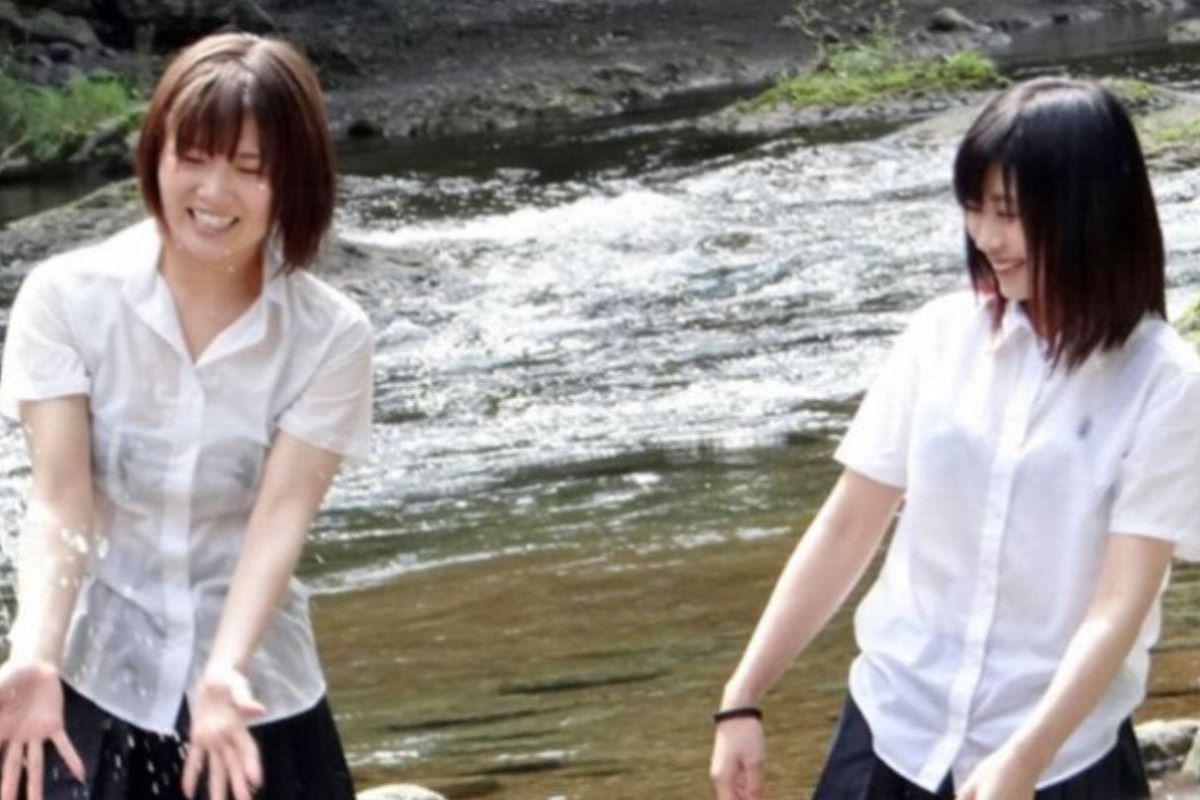 濡れ透け JK画像 73