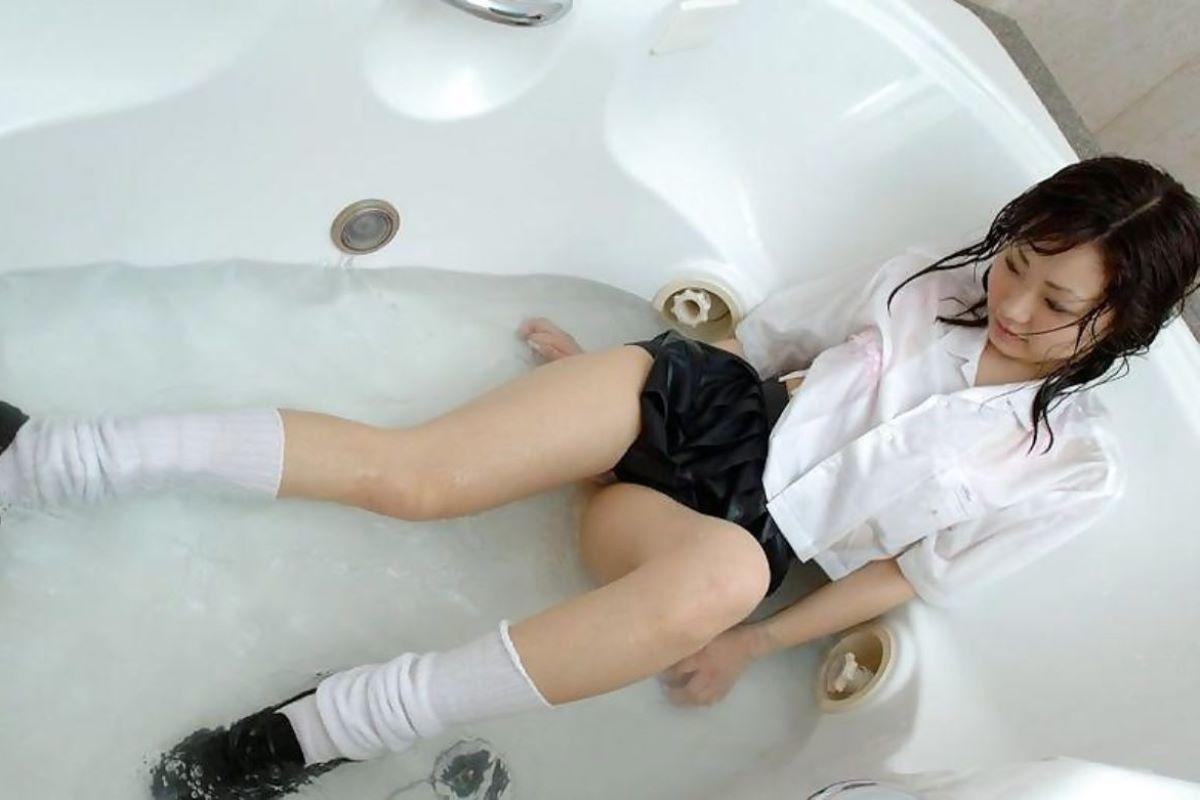 濡れ透け JK画像 90