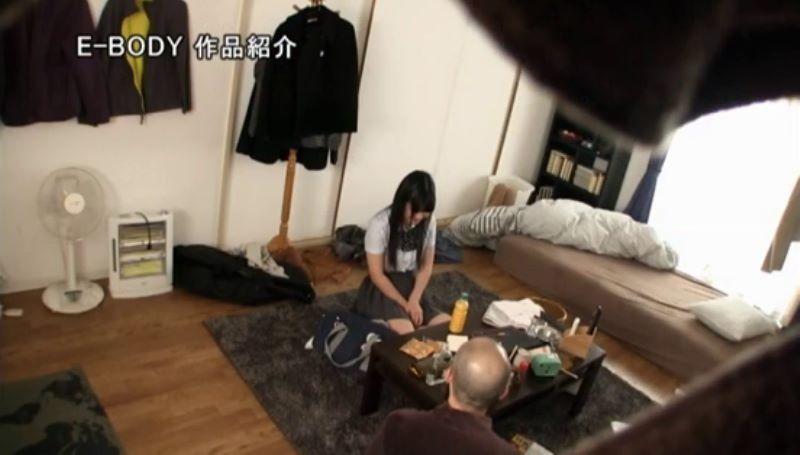Jカップ 制服JK 中出しセックス画像 15