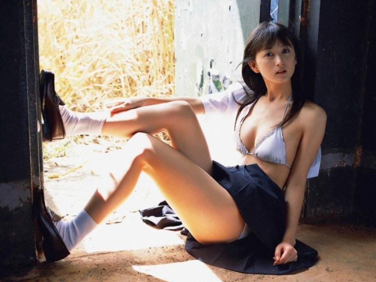 セーラー制服 半脱ぎ JK画像 4