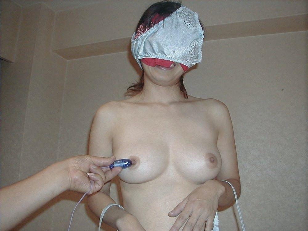素人女がパンツを被った画像 82